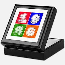 1986 Birthday Designs Keepsake Box