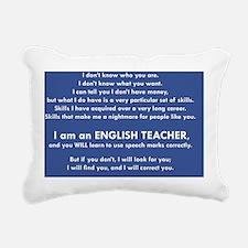 I Will Find You – Speech Rectangular Canvas Pillow