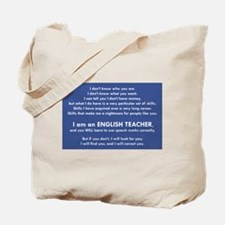I Will Find You – Speech Marks Tote Bag