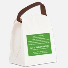 I Will Find You - Commas Canvas Lunch Bag