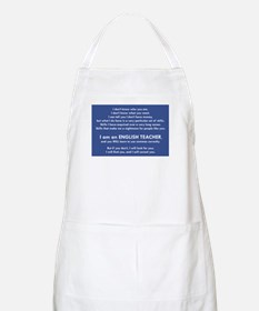 I Will Find You - Commas Apron