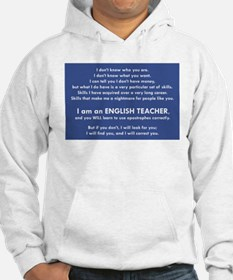 I Will Find You - Apostrophes Hoodie