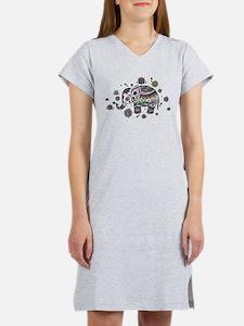 Cute Elephant Women's Nightshirt