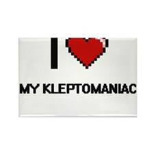 I Love My Kleptomaniac Magnets