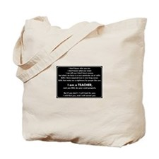 I Will Find You - Do Your Work Properly Tote Bag