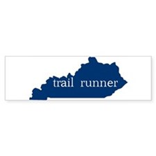 KY Trail Runner Bumper Bumper Sticker