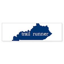 KY Trail Runner Bumper Car Sticker