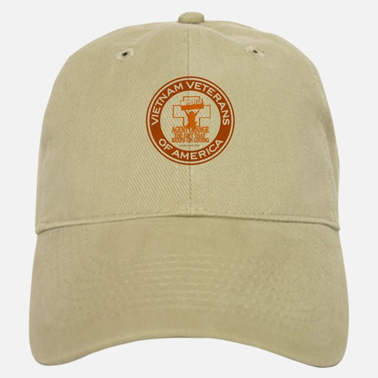 VVA Orange Baseball Baseball Cap