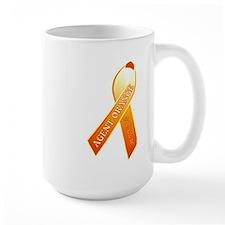 We Care Orange Ribbon MugMugs