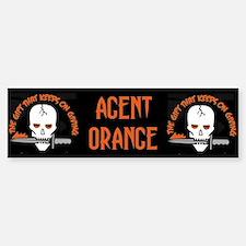 Agent Orange Bumper Bumper Sticker