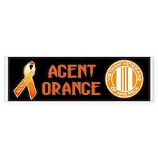 We Care Orange Ribbon Bumper Sticker