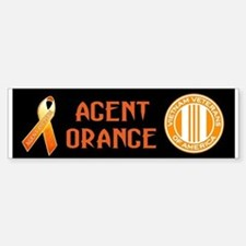 VVA Orange Bumper Bumper Sticker