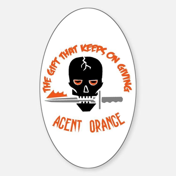 Agent Orange Decal