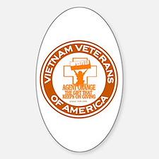 VVA Orange Sticker (Oval)