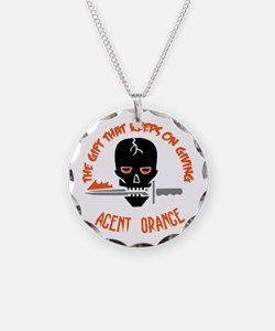Agent Orange Necklace