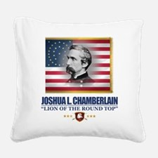 Chamberlain (C2) Square Canvas Pillow