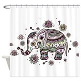 Elephant Shower Curtains