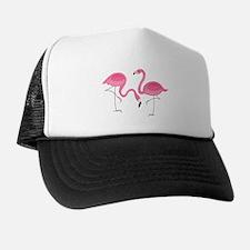 Cute air Of Pink Flamingos Trucker Hat