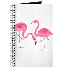 Cute air Of Pink Flamingos Journal