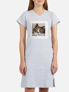 CATS - HAIRY PAWTER Women's Nightshirt