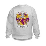 Quijano Family Crest Kids Sweatshirt