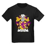 Quijano Family Crest Kids Dark T-Shirt