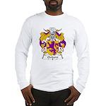 Quijano Family Crest Long Sleeve T-Shirt