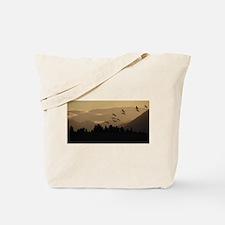 Sandhill Cranes at Sunrise Tote Bag