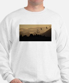 Sandhill Cranes at Sunrise Sweatshirt