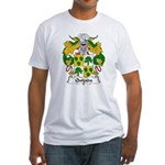 Quijada Family Crest Fitted T-Shirt