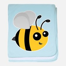 Cute Cartoon Bee baby blanket