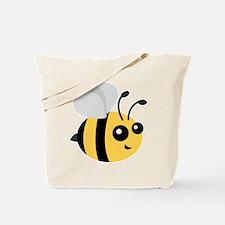 Cute Cartoon Bee Tote Bag