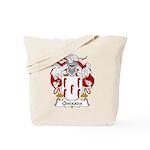 Quexada Family Crest Tote Bag