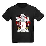 Quexada Family Crest Kids Dark T-Shirt