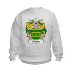 Queipo Family Crest Kids Sweatshirt