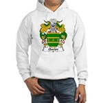 Queipo Family Crest Hooded Sweatshirt