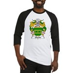 Queipo Family Crest Baseball Jersey