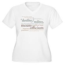 Desilite (metal colors) Plus Size T-Shirt