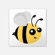 Cute Cartoon Bee Sticker