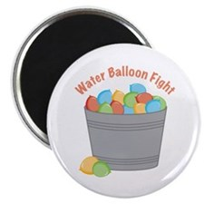 Water Balloon Fight Magnets
