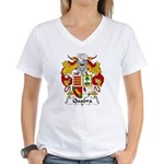 Quadra Family Crest Women's V-Neck T-Shirt