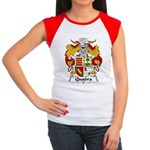 Quadra Family Crest Women's Cap Sleeve T-Shirt