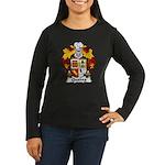 Quadra Family Crest Women's Long Sleeve Dark T-Shi