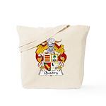 Quadra Family Crest Tote Bag