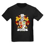 Quadra Family Crest Kids Dark T-Shirt