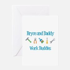 Bryce - Work Buddies Greeting Card
