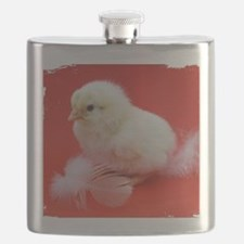 chicks in red Flask