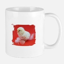 chicks in red Mugs