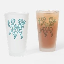 Sign Zodiak Gemini Drinking Glass