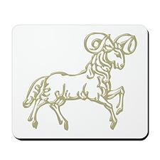 Sign Zodiak Aries Mousepad